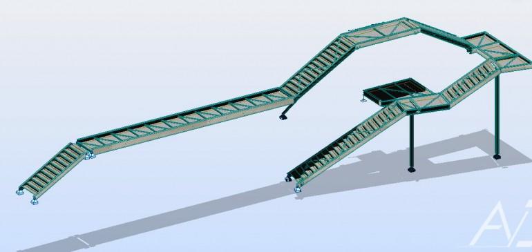 Calculs La Saudrune , bureau études structures métalliques, 31 , arcane ingénierie