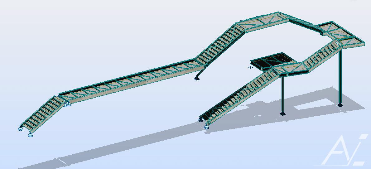 Calculs réhabilitation du sivom de la saudrune étude de structures métalliques