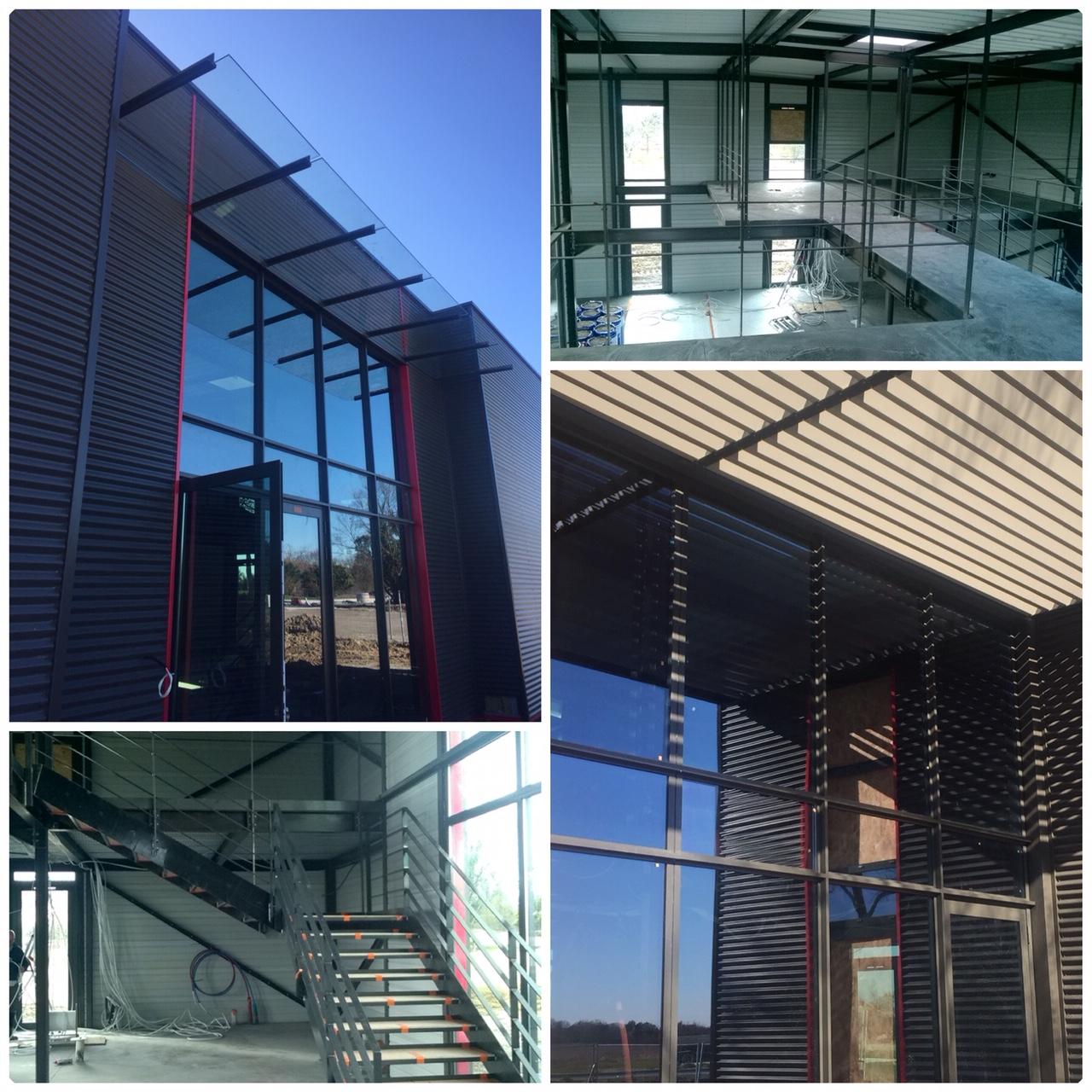 Février 2020 - Construction des bureaux d'Arcane Ingénierie